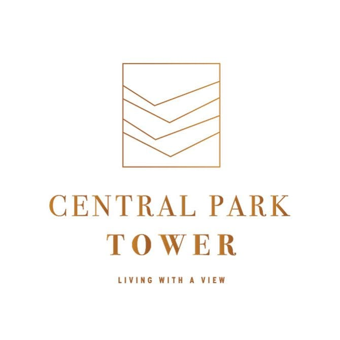Central park tower logo ontwerp